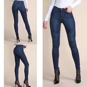Denim - High-rise ultra skinny jeans